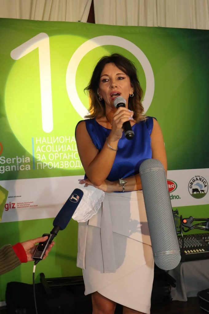 Ivana Simić, Serbia Organika, Serbia Organica