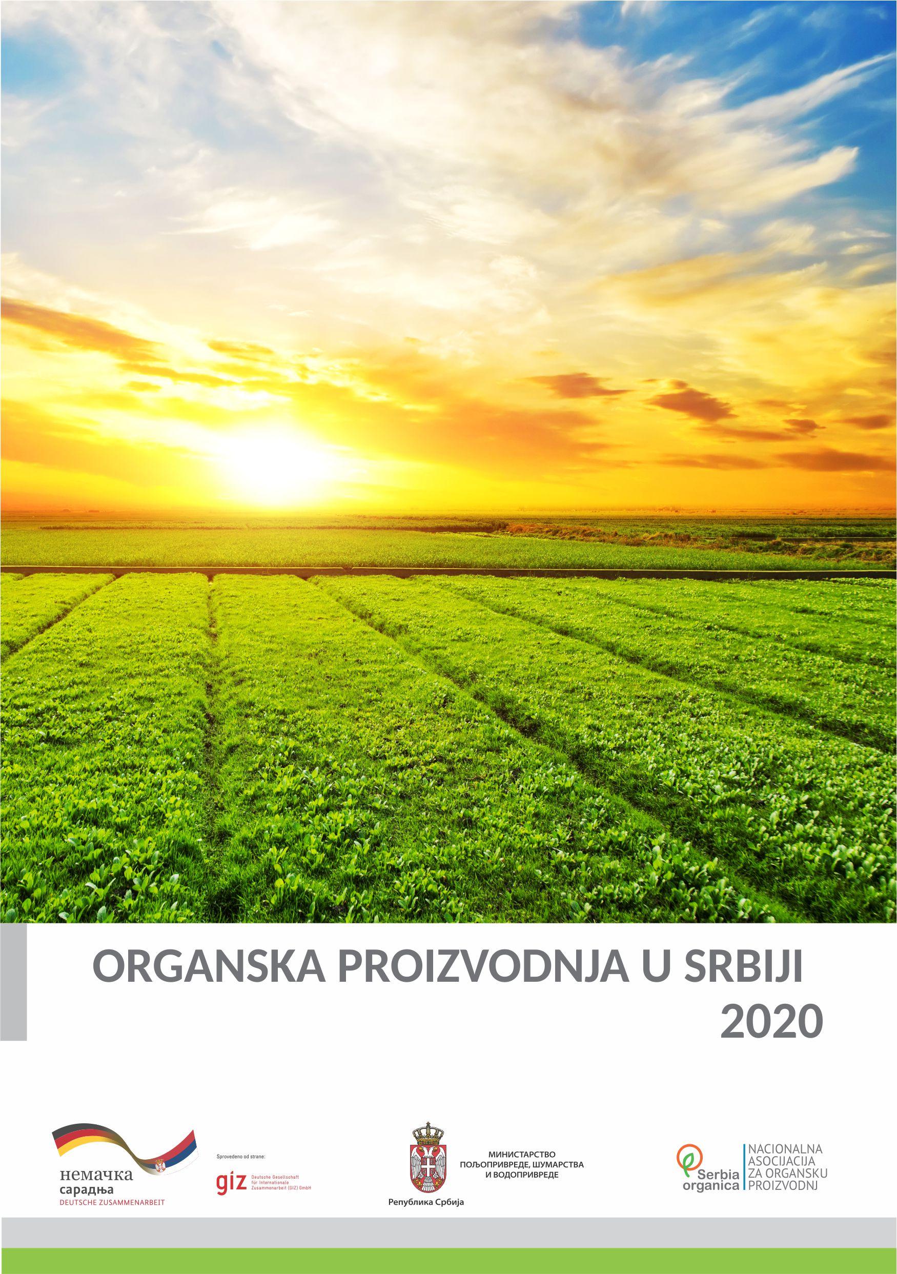 Organska proizvodnja u Srbiji 2020
